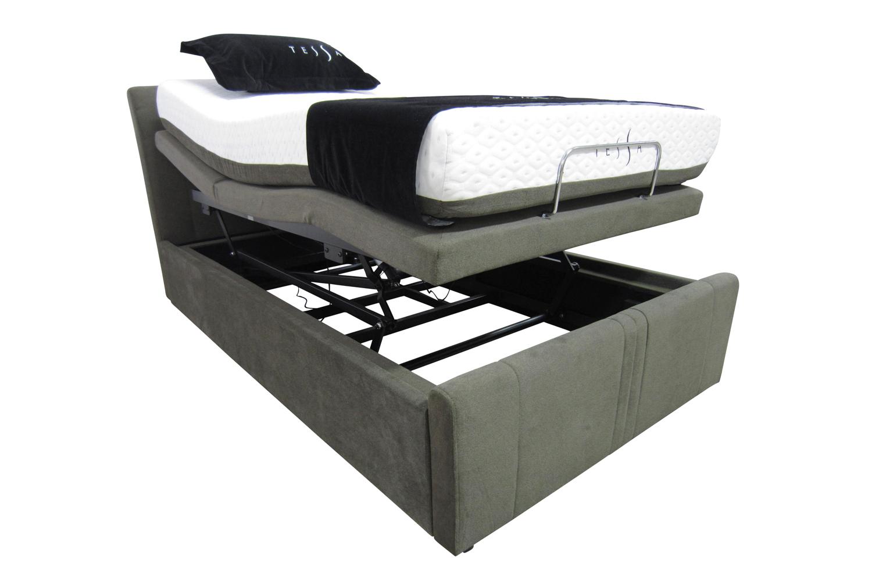 Adjustable Height King Size Bed Frames : Electric adjustable king size beds enjoy the benefits of