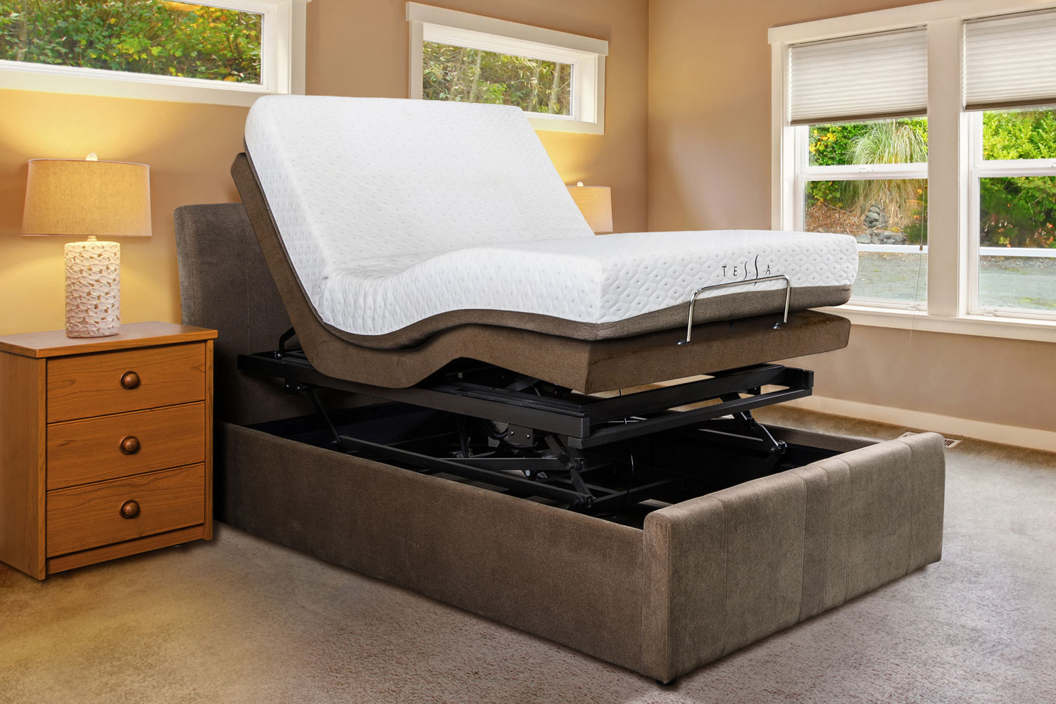 Electric Adjustable Beds Archives - Tessa Furniture